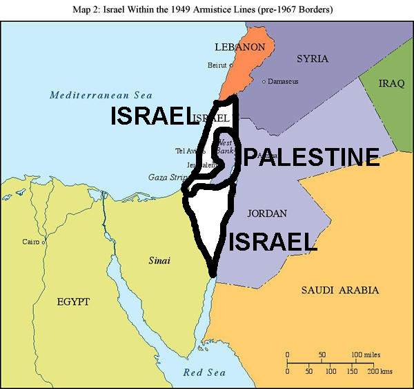 Image result for 2 state solution