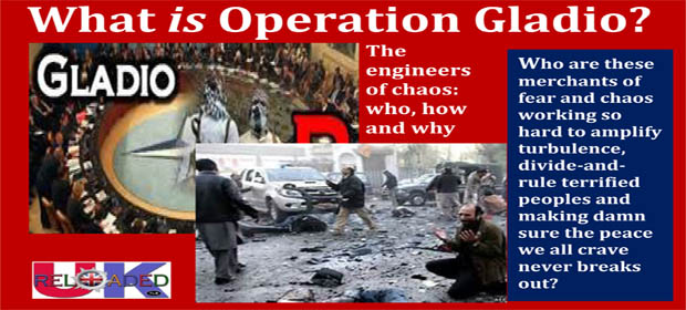 "Operation Gladio"" = Europe's Campaign on its own citizens in an"