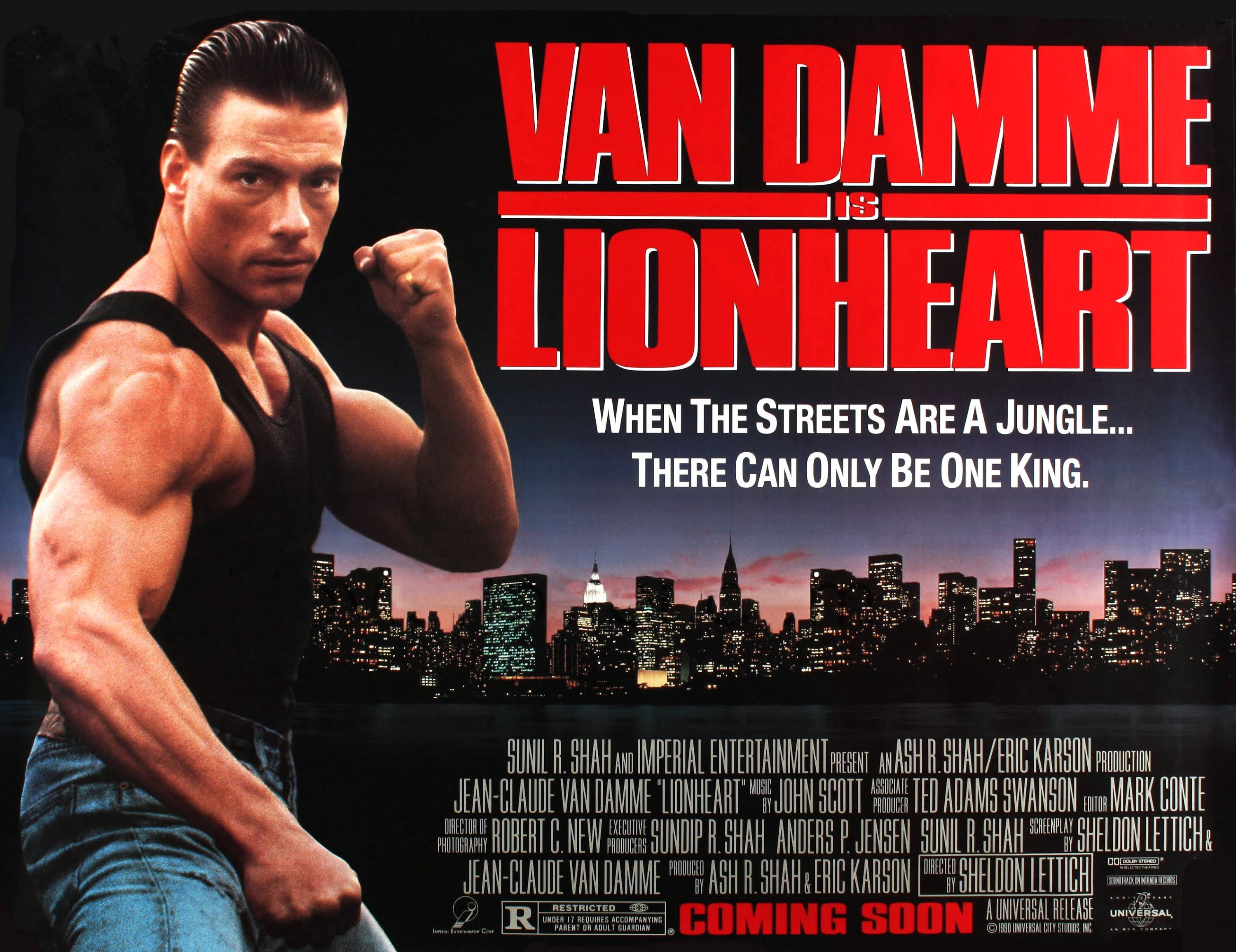 LIONHEART: JCVD Classic Gets a Blu-ray With Heart - Cinapse